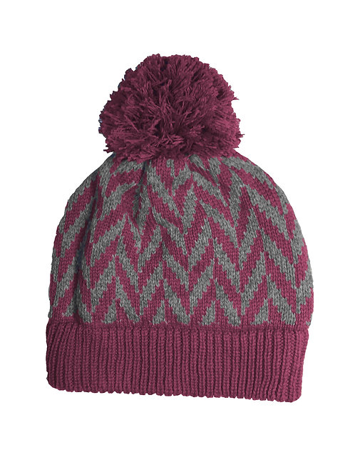 Montrose Hat in Berry