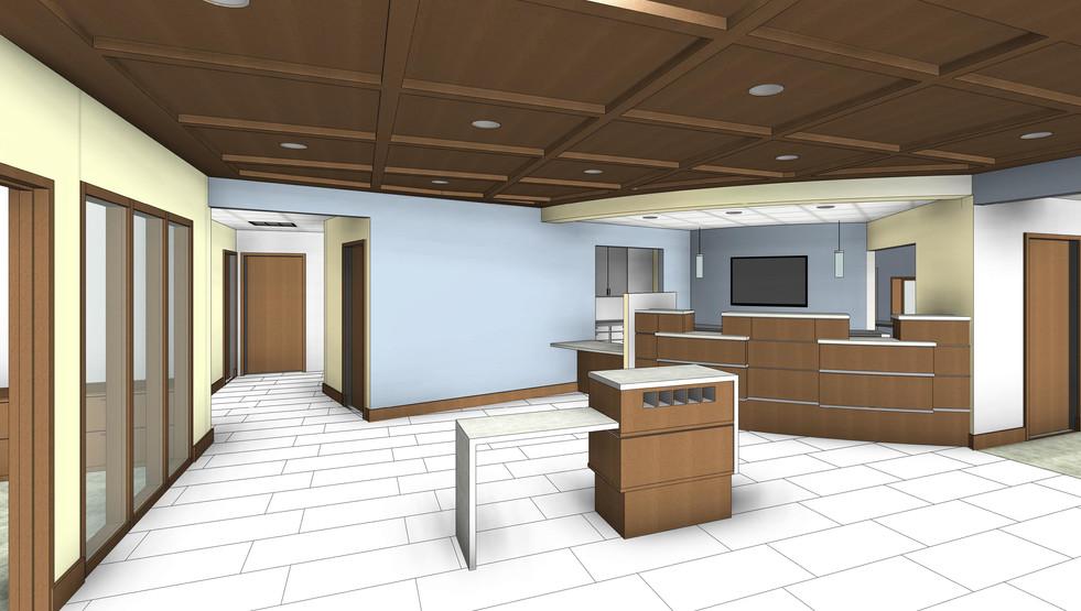 Teutopolis State Bank Interior