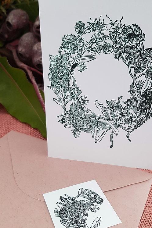 Christmas Cards - Wreath
