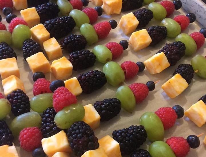 Fruit & Cheese Kabobs