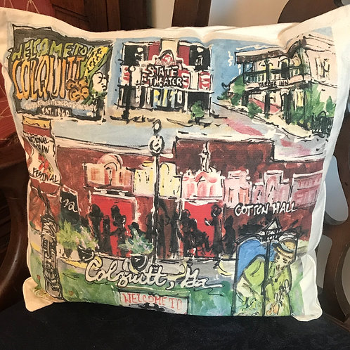 Colquitt, Ga Pillow