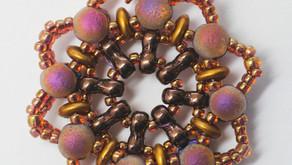 Colorful Components - Mandala Pendant