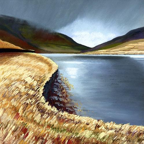 Rain Sweeps In Over Widdop Reservoir