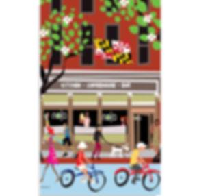 Nola Cafe Poster