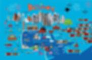 Funky Baltimore Map