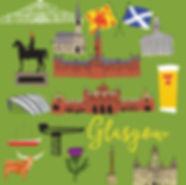 Map of Glasgow