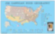 Jim Gaffigan Food Map
