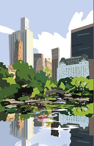 Centrlal Park Poster