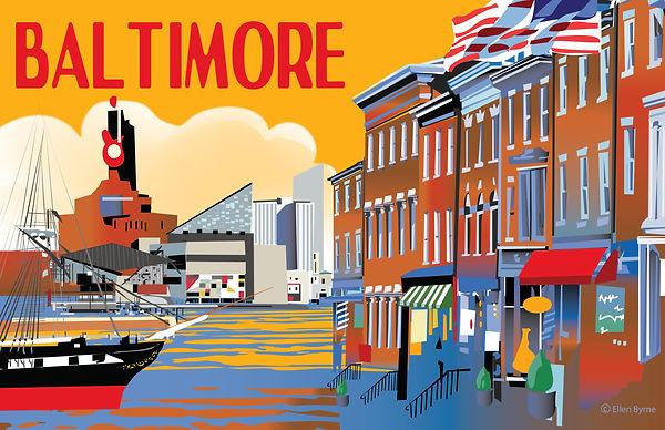 Baltimore Poster