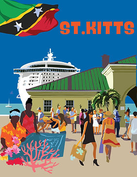 St. Kitts Poster