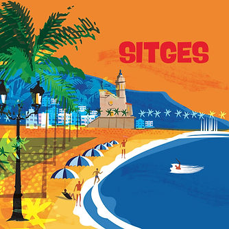 Sitges, Spain Poster