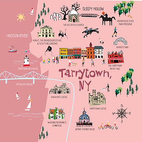Tarrytown, NY Map