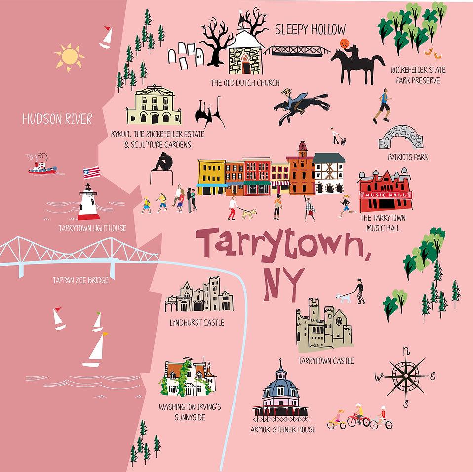Tarrytown, NY Map