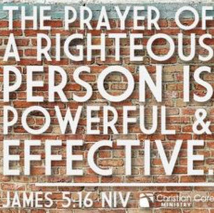 James 5:13-15: Effective Prayer