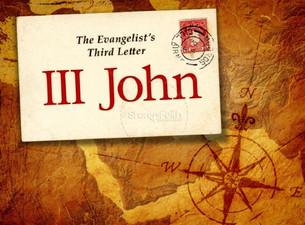 3rd John: Encourage those who do good work
