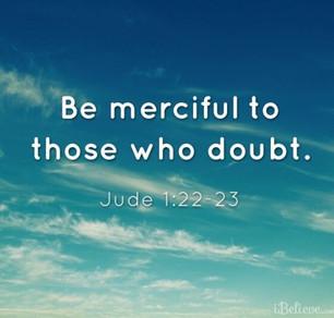 Jude 22,23: God's Mercy