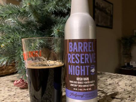 Beer Review Time: Irish Rain by Foolproof (RI)