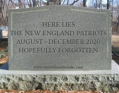 Zimmer: A Funeral for our 2020 Patriots