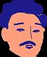 L'homme moustachu