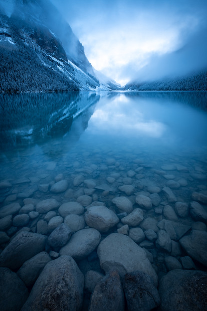 Moody Lake Louise
