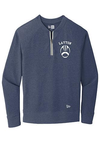 New Era ® Sueded Cotton Blend 1/4-Zip Pullover NEA123