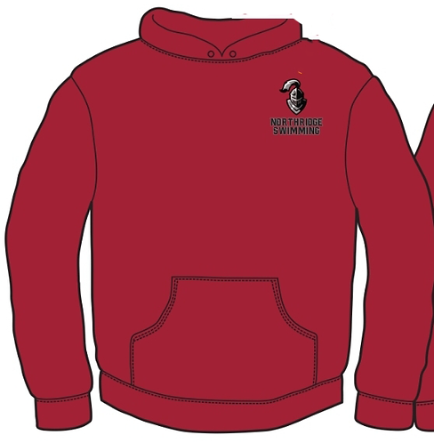 NuBlend® Pullover Hooded Sweatshirt. 996M