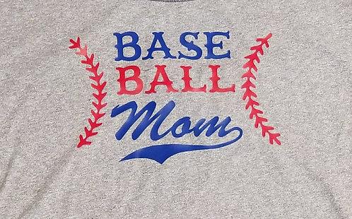 Baseball Mom 2 - Ladies Tee