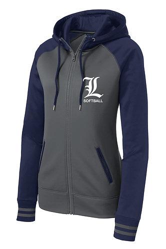 Sport-Tek® Sport-Wick® Varsity Fleece Full-Zip Hooded Jacket