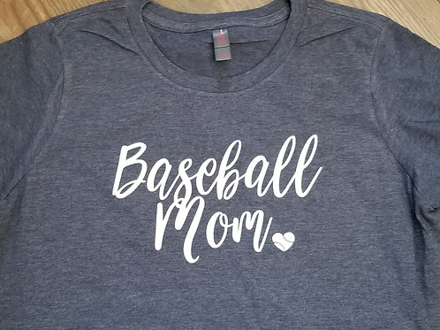 Baseball Mom - Ladies Tank