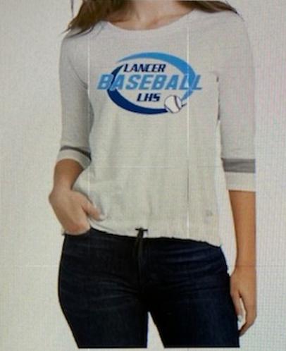 New Era ® Ladies Tri-Blend 3/4-Sleeve Tee LNEA136