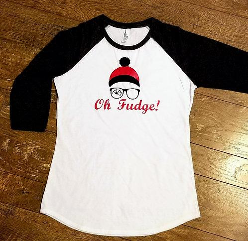 Oh Fudge! - Ladies 3/4 Sleeve