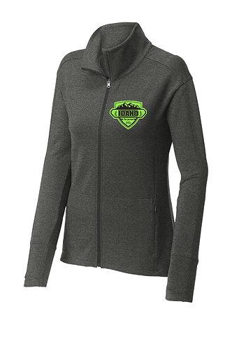 Sport-Tek ® Ladies Sport-Wick ® Flex Fleece Full-Zip