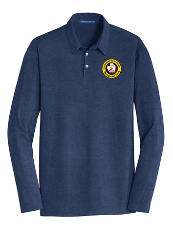 Port Authority® Long Sleeve Meridian Cotton Blend Polo