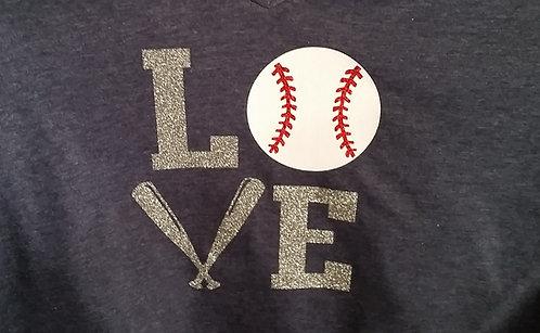 Love Baseball - Ladies Tank