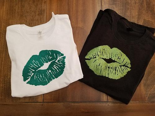 Irish Lips - Ladies Tee