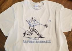 Lancer Baseball Player