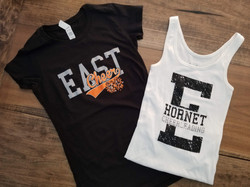 East Cheer Shirts