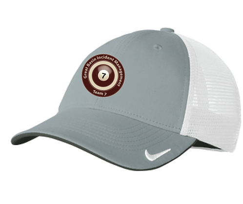 Nike Dri-Fit Mesh Back Cap Grey