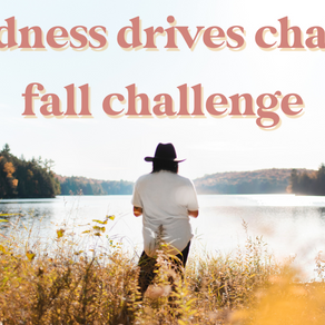 Use this challenge to get out of your comfort zone