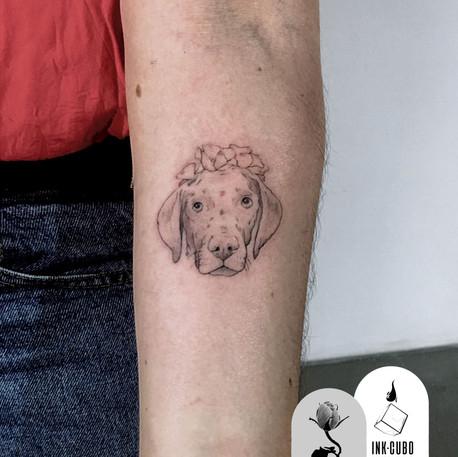 Tatuajes de ilustraciones en InkCubo, Sevilla