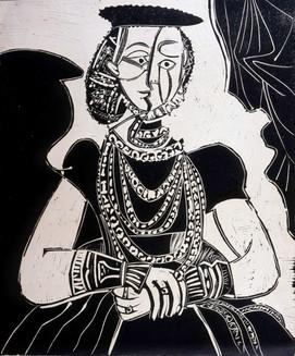 Portrait de jeune Fille, d'après Cranach le Jeune. II