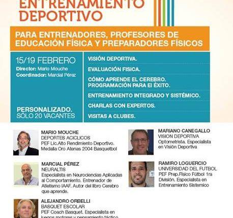 Cerebro Deportivo - 1º Campus de Neurociencias Aplicadas el Entrenamiento Deportivo - BA2016