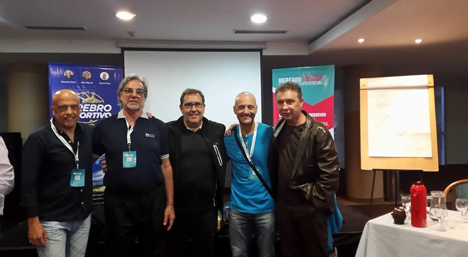 Marcial Pérez, Mario Mouche, Mariano Canegallo, Mario Di Santo, Ruben Magnano