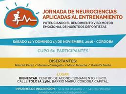 JORNADAS DE NEUROCIENCIAS APLICADAS AL ENTRENAMIENTO