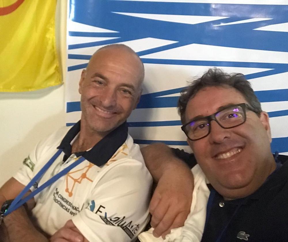 Con el profesor Mario Disanto