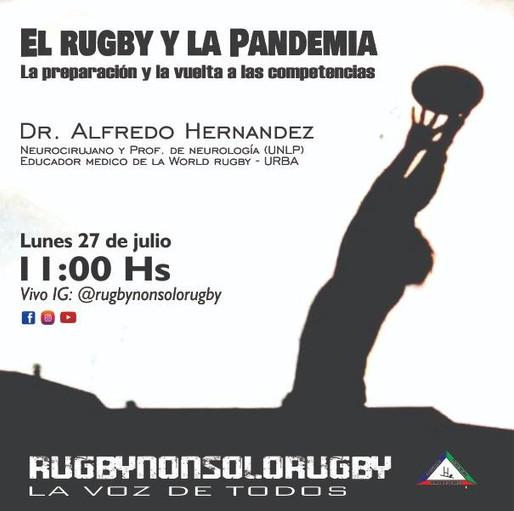 El Rugby y la pandemia.