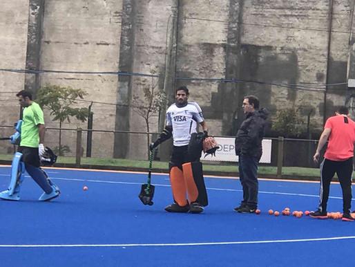 """Selección Argentina de Hockey """"Los Leones"""" - Asesoramiento en entrenamiento de arqueros."""