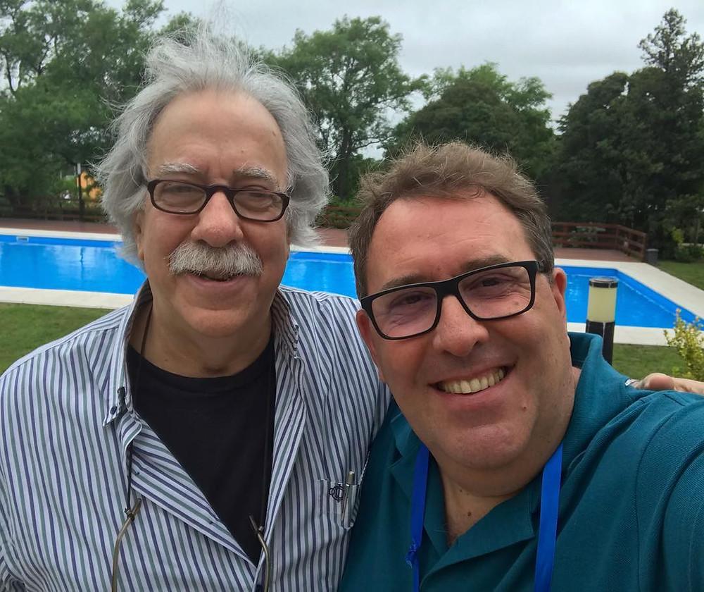 Con el profesor Emilio Masabeu