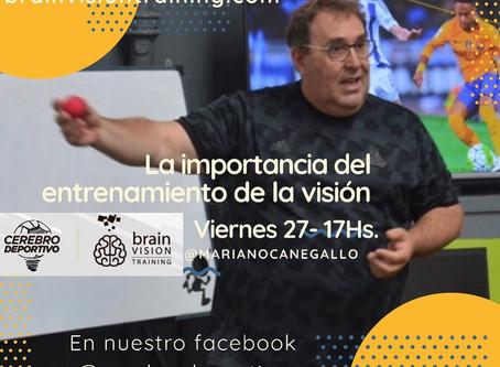 La importancia del entrenamiento de la visión