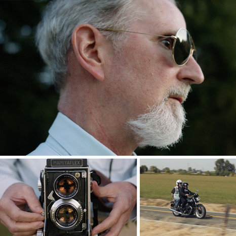 Recently directed a film for Be My Eyes featuring Pete Eckert, a blind photographer